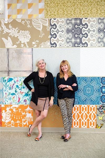 Best Source for Fabrics & Best Source for Wallpaper: Stockton Hicks Laffey