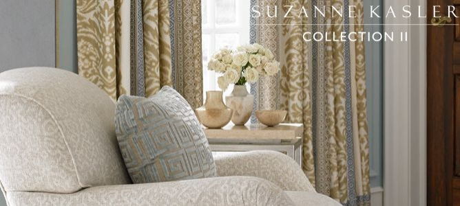 New This Week: Suzanne Kasler II Collection for Lee Jofa